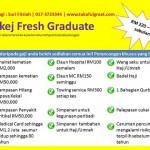 Pakej Takaful Istimewa Khas Untuk Fresh Graduate