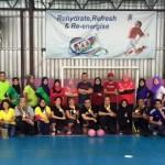 Futsal ZEST Championship 2016 Meriah Dengan Agen Takaful Yg Gagah & Mantap!