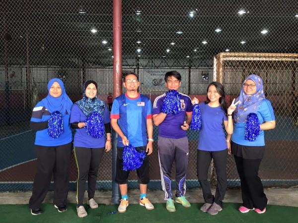 futsal biru