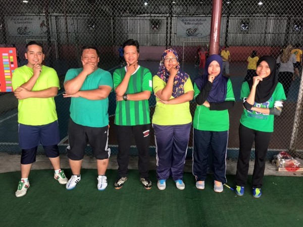 futsal hijau