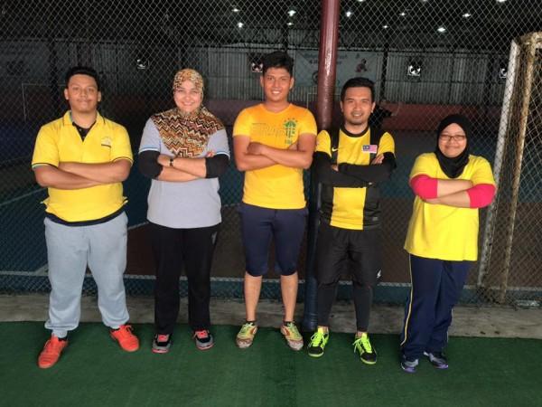 futsal kuning