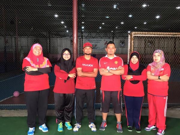 futsal merah