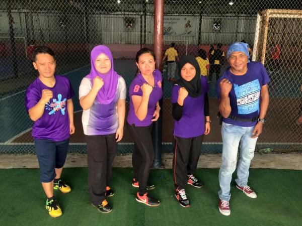 futsal purple