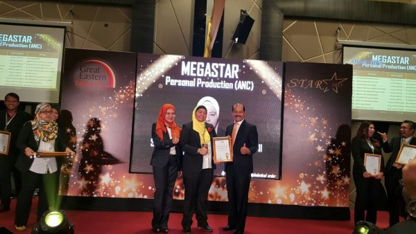 Saya menerima STAR MEGAStar 2015