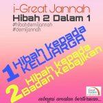 i-Great Jannah istimewa daripada Great Eastern Takaful
